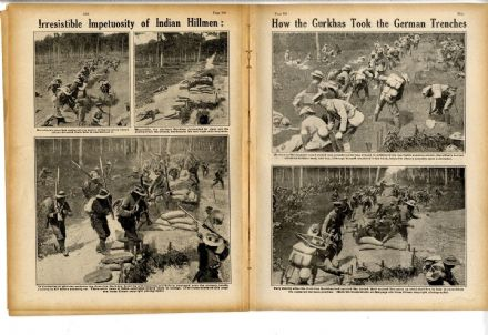 1916 WW1 Magazine WAR HORSE Gurkhas BATTLE JUTLAND Mametz TRENCHES War (0010)